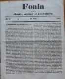 Foaia pentru minte , inima si literatura , nr. 20 , 1863 , Brasov , I. Muresanu