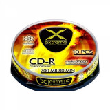 Mediu optic Esperanza CD-R Extreme 700MB 52x 10 bucati