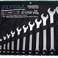 Set 12 Chei Combinate - Fixe - Inelare - 6-32m