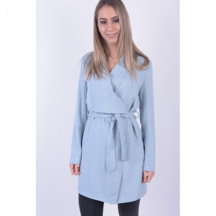 Palton Only Hello Drapy Cashmere Blue