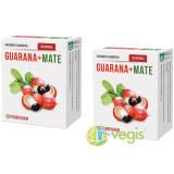 Guarana + Mate 30cps Pachet 1+1