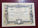 Actiune 1926 Institutul de credit si economii Albina Sibiu - titlu - actiuni