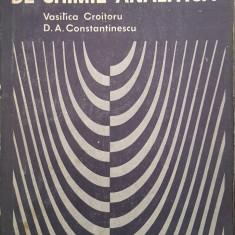 APLICATII SI PROBLEME DE CHIMIE ANALITICA - V. Croitoru, D. Constantinescu