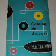 Catalog de discuri Electrecord 1965, Alta editura, Nicolae Iorga