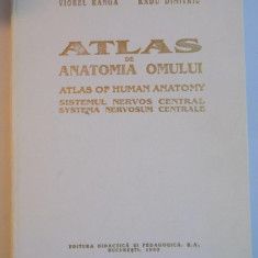 ATLAS DE ANATOMIA OMULUI SISTEMUL NERVOS CENTRAL 1993-VIOREL RANGA , RADU DIMITRIU