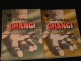 CHANGI-JAMES CLAVELL-COL. DELFIN-2 VOL- 1=300 PG- 2=285 PG-