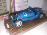 "Macheta Bugatti ""tipo 59"" - 1933 - Brumm scara 1:43"