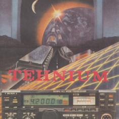 * * * - ALMANAH TEHNIUM, ed. Revista Tehnium, Bucuresti, 1989, Alta editura