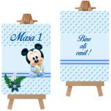 Numere masa pentru botez Mickey Mouse Handmade by Diana Puiu NMBM 1
