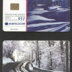 Romania 2001 Telephone card Winter Rom 127 CT.043