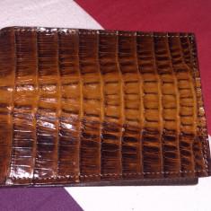 portofel piele crocodil
