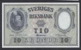 A5153 Sweden Suedia 10 kronor 1958 SEMNATURI DIFERITE UNC