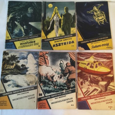 Lot 10 reviste din Colectia Povestiri Stiintifico Fantastice (SF) - lb maghiara