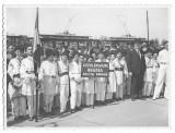 B2022 Elevi liceu Gojdu Teodor Nes tramvaie Oradea anii 1930