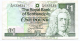 Scotia 1 Pound Sterling 01.10.1997 - 033631, P-351c