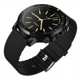 Ceas Smartwatch ZEBLAZE Vibe Lite Bluetooth sport fitness tracker cu pozitionare SOS pentru Android / iOS, negru