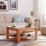 Masuta de cafea KimWOOD din lemn masiv - stejar
