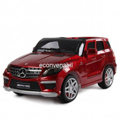 Masinuta Electrica Copii Mercedes ML63 AMG Rosu