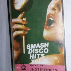 caseta audio Veche,SMASH DISCO HITS,VOL.9,SOUND OF AMERICA,originala,T,GRATUIT