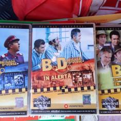 BD LA MUNTE SI LA MARE / BD IN ALERTA /BD INTRA IN ACTIUNE - 3 DVD COMEDIE