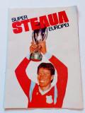 Program - poster - STEAUA Bucuresti castigatoarea Super Cupei Europei 1987