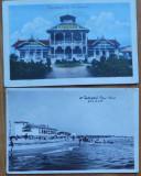 2 carti postale interbelice , Techirghiol