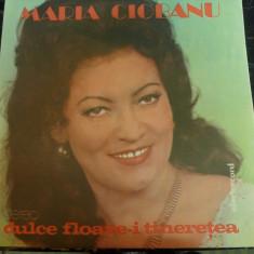 Maria Ciobanu – Dulce Floare-i Tinerețea  Electrecord – ST-EPE 01954, VINIL