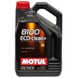 Ulei motor Motul 8100 Eco-Clean+ 5W-30 5L