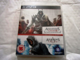 Assassin's Creed + Assassin's Creed II GOTY, PS3, original, alte sute de titluri