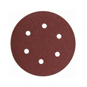 Disc abraziv pentru slefuitor orbital Geko 225mm, P180 foto