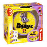 Joc de societate Dobble, 50 carti, 8 simboluri, 2-8 jucatori, 6 ani+