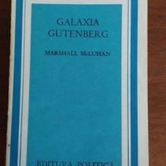 Galaxia Gutenberg – Marshall McLuhan