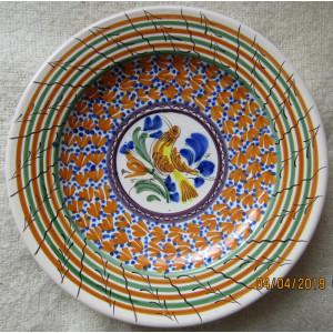 Ceramica Casas P. AR. Cal Mexican.D30cm/959gr.