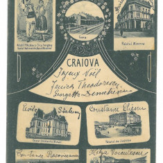 4818 - CRAIOVA, Romania - old postcard - used - 1905