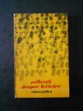 M. DIACONU - REFLECTII DESPRE FERICIRE