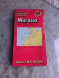 MAROCCO, ISOLE CANARIE, SAHARA OCC., GRANDI CARTE STRADALE (HARTI RUTIERE)