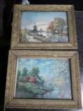 2 rame tablou vechi pentru picturi 32 cm /25 cm,stare cj.foto,T.GRATUIT
