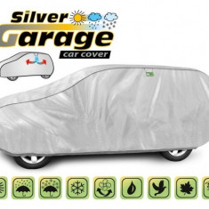 Prelata auto, husa exterioara Volvo Xc90 impermeabila in exterior anti-zgariere in interior lungime 450-510cm, XL suv/ Off Road model Silver Garage