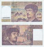 1993 , 20 francs ( P-151f.2 ) - Franţa