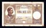 Romania - 1000 Lei 1934 . Bancnota rara !
