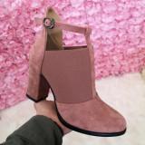 Pantofi Resami roz cu toc eleganti -rl