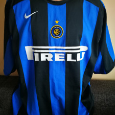 Tricou Fotbal Inter. Nike. Marimea XL.