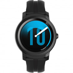 Smartwatch E2 Waterproof cu Monitorizare Ritm Cardiac Negru