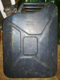 Cumpara ieftin CANISTRA METAL pentru BENZINA, MOTORINA (20 litri)