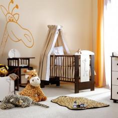 Mobila Camera Copii Si Bebelusi KLUPS SAFARI GIRAFFE WENGE