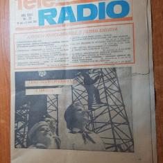 revista tele-radio saptamana 30 mai-5 iunie 1982