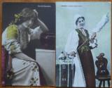 6 carti postale interbelice , costume populare romanesti