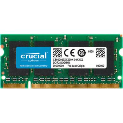 Memorie laptop Crucial 1GB (1x1GB) DDR2 800MHz CL6 1.8V foto