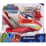 Masinuta cu figurina Pj Masks Save The Sky, Owl Glider 95822