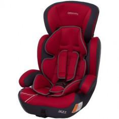 Scaun Auto Jazz Rosu Inchis 9-36 kg, 1-2-3 (9-36 kg)